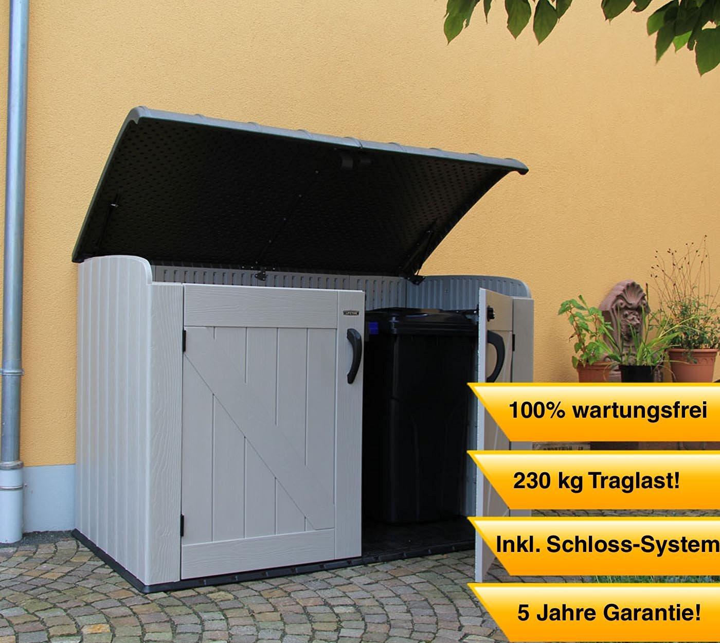 ᐅ Gunstige Mulltonnenbox Kunststoff Top 13 Neu